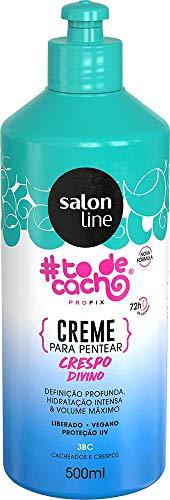 Salon Line Creme Para Pentear Crespos Divinos, Branco