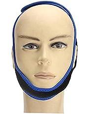 Andas Anti-snarkning hakrem - Naturligtvis Stop Snarkning Device Inläggningar främja blodcirkulationen magneter, justerbara blå och svart, hem säkerhet och sjukvårdsprodukter