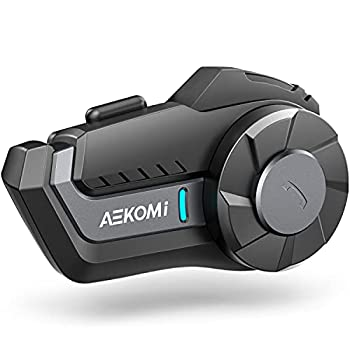 Motorcycle Bluetooth Headset AEKOMi HY-01S Helmet Intercom Motorbike 1000m Universal Communication Systems 2 Riders Group Waterproof  1Pack