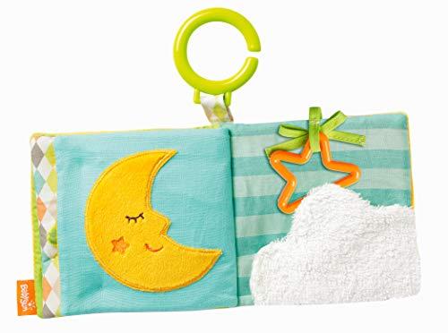 Babysun Livre D'éveil Bébé Sleeping Forest, Lavable, 0+ Mois