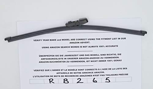 RB12-nis Tergicristallo posteriore