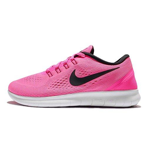 Nike Free Run 831509, Scarpe Da Corsa Donna, Rosa (Pink Blast/Black-Fire Pink-Wht), 35.5 EU