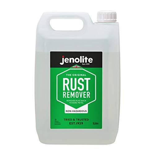 Jenolite Removedor de óxido no peligroso - Respetuoso con el medio ambiente - 5L