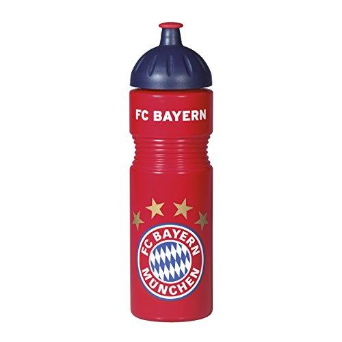 FCB - Flasche - Fahrrad Trinkflasche 0,75 Liter - FC Bayern München