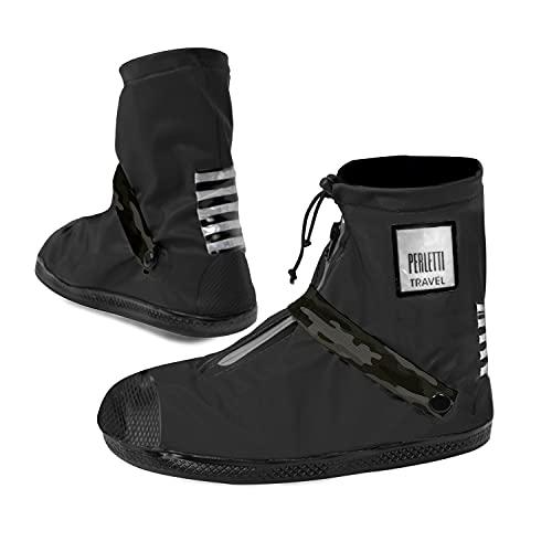 Cubrezapatos Impermeables Negros Bajos - Cubrezapatillas Reflectantes...