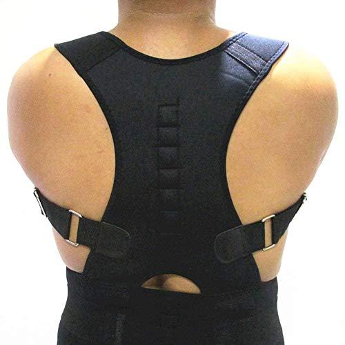 Magnetic Posture Corrector Humpback Therapy   LIANTH Posture Corrective Back Brace for Men & Women   Lumbar Pain Relief   Shoulder & Back Support Belt