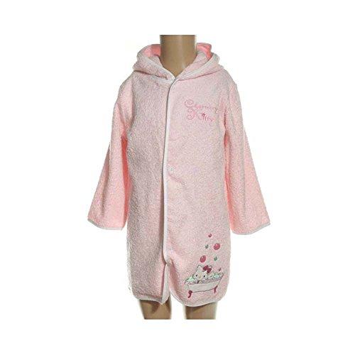 Sanrio Charmmy Kitty - Peignoir 100% Coton - Rose - bébé Fille
