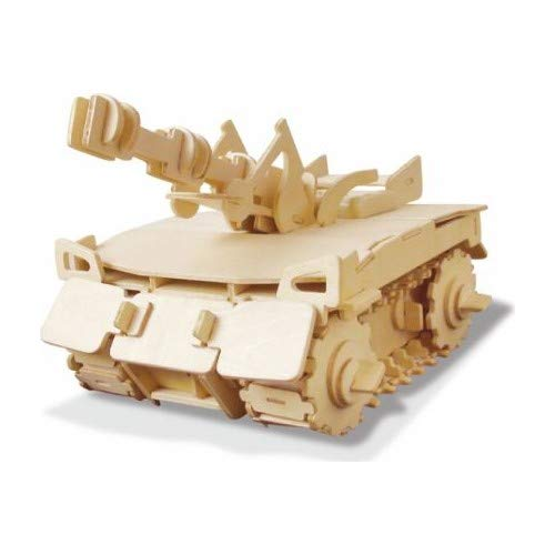 Robotime V200 Military Tank Fernbedienung Wooden 3D Puzzle Robotime