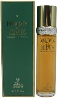 Elizabeth Taylor Diamonds & Emeralds Eau De Toilette Spray 3.3 Oz/ 100 Ml, 345 g