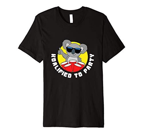 Funny Koalified To Party Gifts Koala Bear Premium T-Shirt