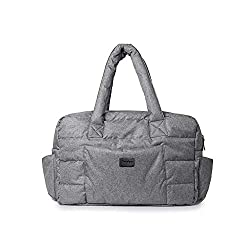 small Travel Soho Bag at 7am (Heather Gray)