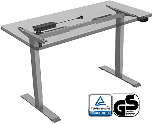 Flexispot EC1S Höhenverstellbarer Schreibtisch Elektrisch höhenverstellbares Tischgestell 2-Fach-Teleskop