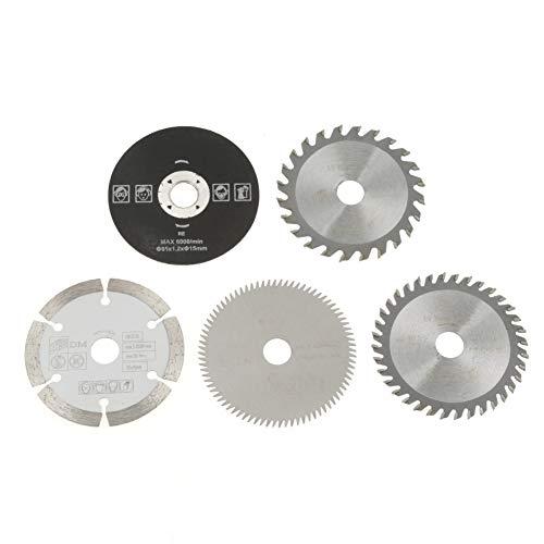 Set de hojas de sierra circular, 5 piezas 15mm / 85mm Juego...
