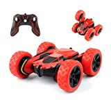 Remote Control Car, 4WD 2.4Ghz RC Stunt Car Toys Double Sided Running 360°Rotating High-Speed Vehicle, Kids Toy Cars Ideal Gift for Boys Girls No Battery