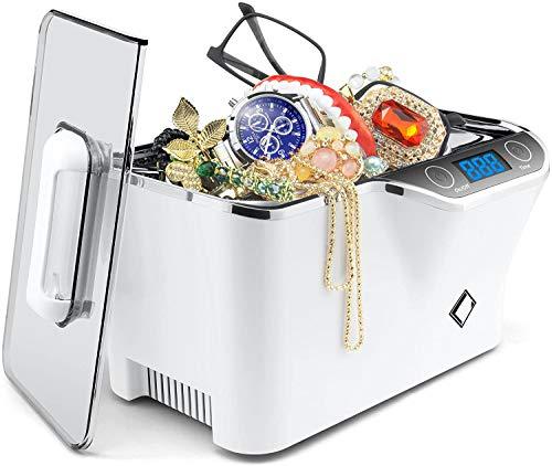 LifeBasis Ultrasonic Cleaner, 600ML Ultrasonic Jewellery Cleaner with...
