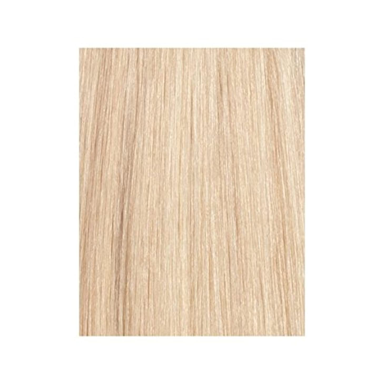 下線ブート予定Beauty Works 100% Remy Colour Swatch Hair Extension - La Blonde 613/24 (Pack of 6) - ラ?ブロンド24分の613 - 美しさは、100%レミーの色見本ヘアエクステンションの作品 x6 [並行輸入品]