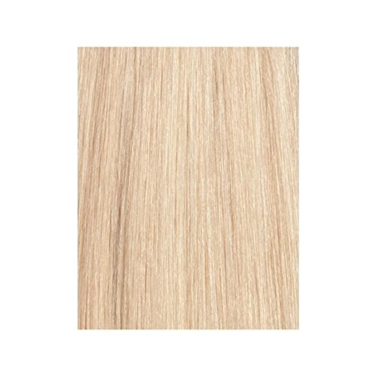 反論集中的なテーブルを設定するラ?ブロンド24分の613 - 美しさは、100%レミーの色見本ヘアエクステンションの作品 x4 - Beauty Works 100% Remy Colour Swatch Hair Extension - La Blonde 613/24 (Pack of 4) [並行輸入品]