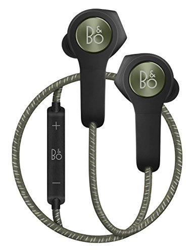 B&O Play BeoPlay H5 ワイヤレスイヤホン Bluetooth リモコン マイク付き Moss Green [並行輸入品]