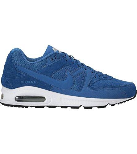 Nike Herren AIR MAX Command PRM Sneaker, Blau (Bleu Industriel/bleu Industriel/Blanc), 44 EU