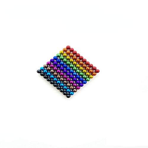 Mag-Balls muchos Colores: 100 magnético Bolas 5 mm Neodimio Super magnético instudrie magnético: NdFeB. 38, Anthrazit Glänzend (dorado)