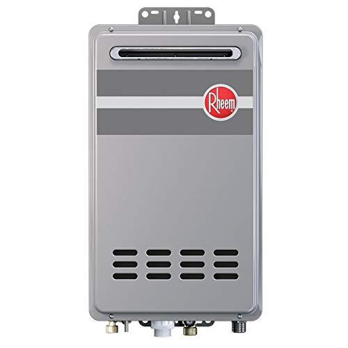 Rheem RTG-95XLN-1 9.5 GPM Outdoor Tankless Low Nox Water Heater (NG)