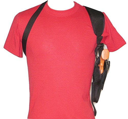 """Federal Vertical Shoulder Holster for 4"""" Revolver in 38 & 357 fits S&W, Ruger,Taurus Most Others"""