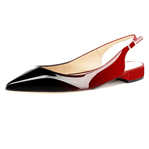Top 10 best selling list for flat red slingback shoes