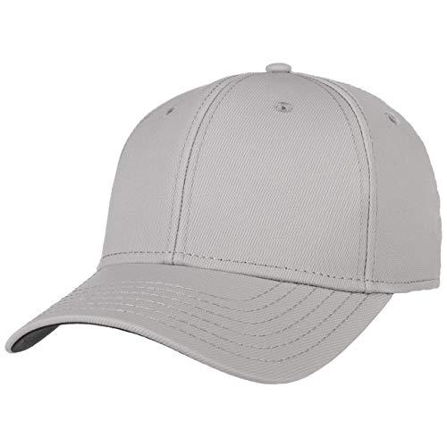 Hutshopping Mild Curved Cap Basecap Baseballcap Baumwollcap (One Size - hellgrau)