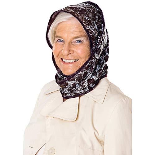 Unbekannt Regenhaube Leo, Regenschutz für Kopf und Haare, Wind- und Wetterschutz, Leomuster