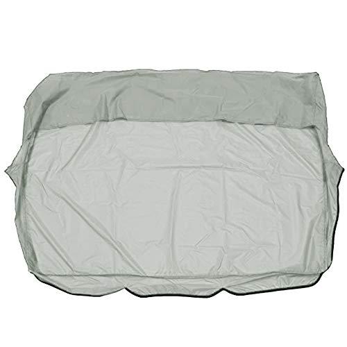 Copertura per cuscino dondolo impermeabile di ricambio per sedia a dondolo a 3 posti, protezione per tutte le condizioni atmosferiche, 60 x 60 x 10 cm(Solo coprisedile)