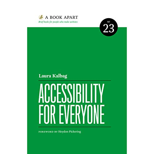 Accessibility for Everyone Audiobook By Laura Kalbag cover art
