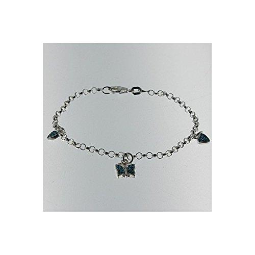 Bracelet papillon enfant