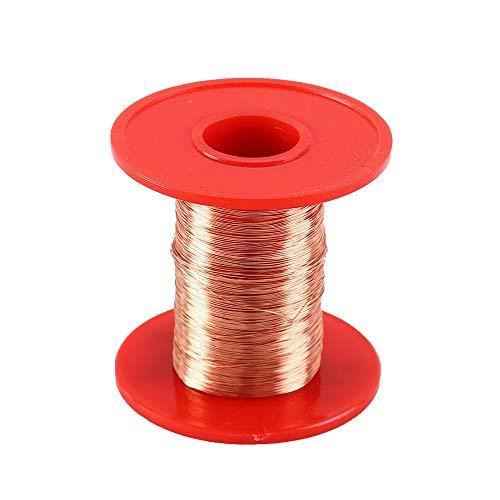 Filo di rame da 0,25 mm, 100 g di poliuretano, filo di rame smaltato, filo elettromagnetico 2UEW per filo trasformatore, bobina a induzione