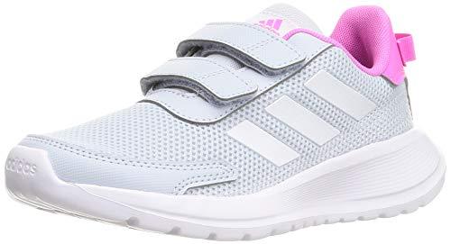adidas Unisex Tensaur Run Sneaker, Halo Blue FTWR White Screaming Pink, 35 EU