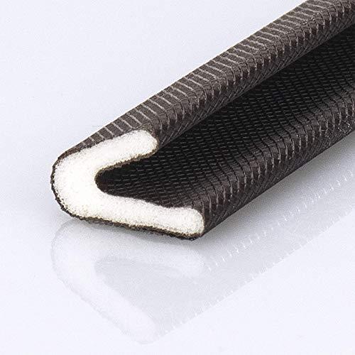 非ゴム製品 隙間テープ ドア すきま風防止 防音パッキン 引き戸 窓 扉 玄関用すきまテープ 虫塵すき間侵入防止シールテープ 6M(長さ)x15mm(幅)x12mm(厚さ)