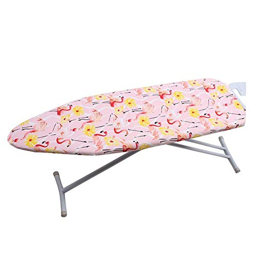 Best Design Flamingos Board Cover Heat Resistant Protective Press Table with Durable, Heat Resistant Material - Silicone Iron Cover, Ironing Board Cover, Ashley Ironing Board Cover