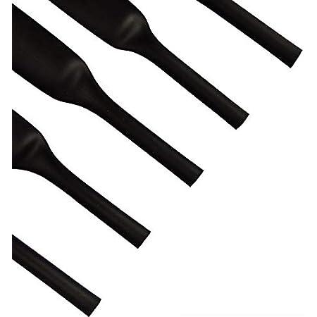 Schrumpfschlauch 2:1 Schwarz /Ø 1//8 3mm - l/änge 5ft 1,5m Auswahl aus 12 Durchmesser und 5 L/ängen Meterware von ISOLATECH/®