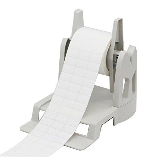 ACENT Etikethouder voor Rollen en Fan-Fold Etiketten Beugel Kunststof Etiketpapier Houder van Thermal Bar Code Sticker Label Printer voor Levering, Supermarkt, Apotheek Winkel Rolls Holder(White) Kleur: wit
