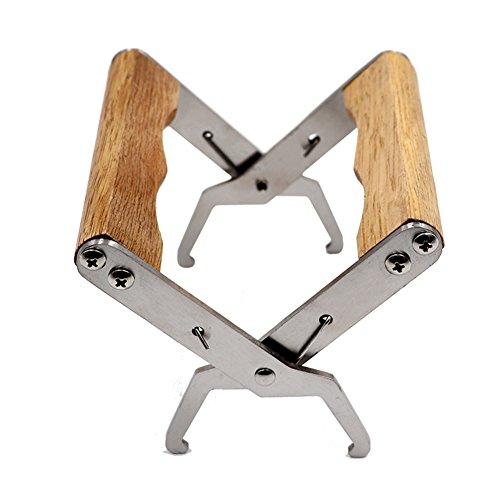 Farm & Ranch Imkerwerkzeug Bienenzucht Werkzeug Nistkasten Jig Bienenstock Werkzeug mit Holzgriff
