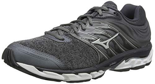 Mizuno Wave Paradox 5, Zapatillas de Running Hombre, Gris Blanco, 42 EU