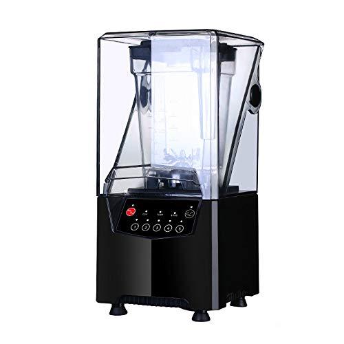 Commerciële Thee Winkel Apparatuur Stille Blender Sap Machine IJs Verpletterd