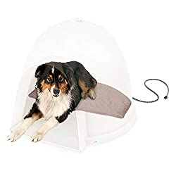 Lectro-Soft-Igloo-Style-Heated-Dog-Bed