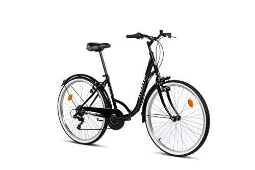 Moma Bikes Town, Bicicletta da Città con cambio Shimano