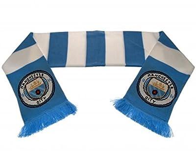 Manchester City FC Bar Scarf - New Crest!
