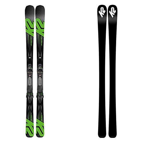 K2 Ikonic 80TI- Esquí + MXC 12TCX - Color negro