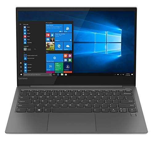 "Lenovo Yoga S730 - Ordenador portátil Ultrafino 13.3"" FullHD (Intel Core i5-8265U, 8GB RAM, 256GB SSD, Intel UHD Graphics 620, Windows 10 Home) Gris - Teclado QWERTY Español"