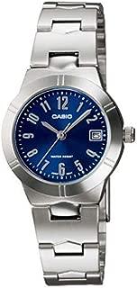 Casio Metal Fashion Watch For Women Ltp-1241D-2A2, Analog Display
