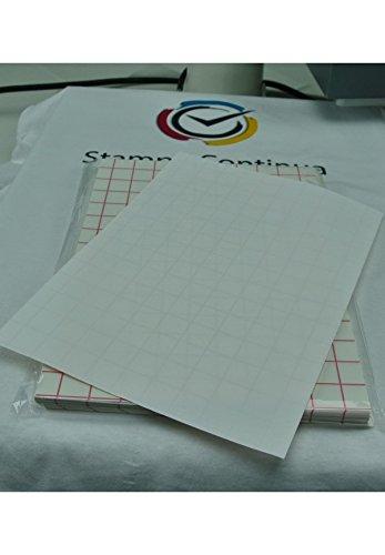 Carta transfer su cotone per tessuti chiari inkjet A4 (100 pezzi A4)