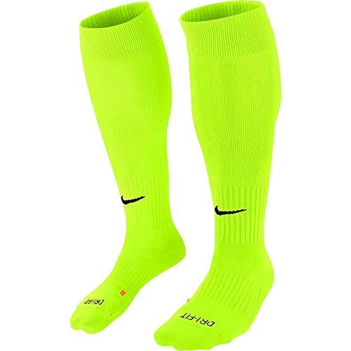 Nike Erwachsene Classic II Cushion Fußballstutzen, Volt/Black, L/EU 42-46
