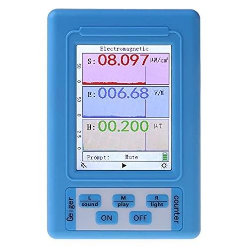 liuchenmaoyi FEM Meter Elektromagnetischer Strahlungsdetektor. EMF Meter-Strahlungsdosimeter-Monitor-Tester BR-9A. FEM-Schutz